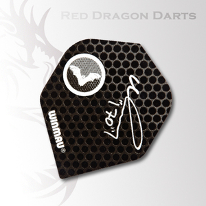 "Ted Hankey ""The Count"" Signature Dart Flights"